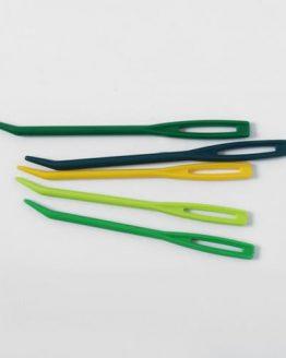 KnitPro Mio: set di 4 aghi da lana in plastica in due misure diverse per i lavori a maglia - Amici di Maglia