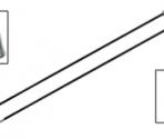Knitpro Ferri diritti Karbonz – 35 cm.