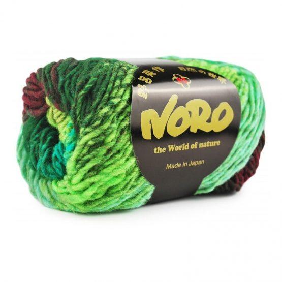 Noro Kureyon 332 Kameoka gomitolo: filato pregiato multicolore in pura lana - Amici di Maglia
