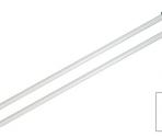 Knitpro Ferri Diritti Basix Aluminium – 25 cm