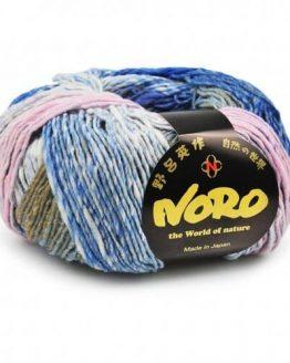 Noro Kureopatora: pregiato filato naturale in pura lana merino multicolore ideale per lavori ai ferri e all'uncinetto invernali - Amici di Maglia