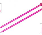 Ferri diritti 40 cm. Spectra – KnitPro