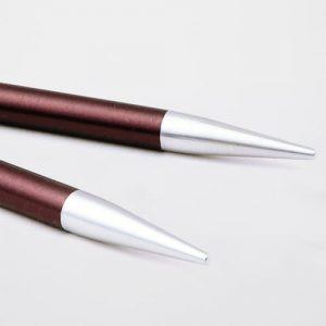 KnitPro Zing Purple Velvet: punte da 6.00 mm per ferri circolari intercambiabili in alluminio - Amici di Maglia