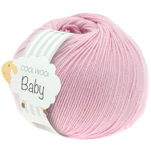 Lana Grossa Cool Wool Baby 216 rosa: filato invernale in pura lana merino - Amici di Maglia