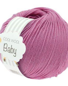 Lana Grossa Cool Wool Baby 242 erica: filato invernale in pura lana merino - Amici di Maglia