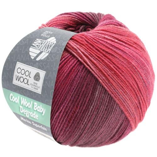 lana-grossa-cool-wool-Lana Grossa Cool Wool Baby Degradé 507: filato invernale multicolore in pura lana merino - Amici di Maglia-lana