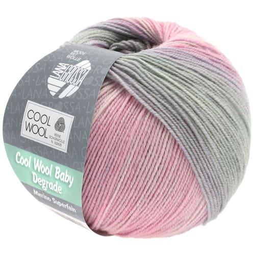 lana-grossa-cool-wool-Lana Grossa Cool Wool Baby Degradé 508: filato invernale multicolore in pura lana merino - Amici di Maglia-lana