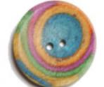 Bottoni curvi in legno Knitpro