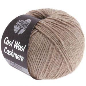 Lana Grossa Cool Wool Cashmere 06 tortora: prezioso filato invernale in pura lana merino e cashmere - Amici di Maglia