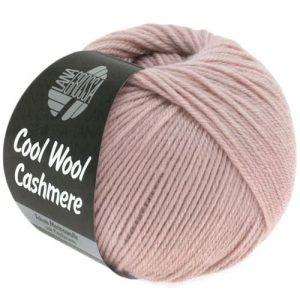 Lana Grossa Cool Wool Cashmere 17 rosa pastello: prezioso filato invernale in pura lana merino e cashmere - Amici di Maglia