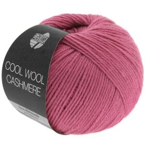 Lana Grossa Cool Wool Cashmere 30 erica: prezioso filato invernale in pura lana merino e cashmere - Amici di Maglia