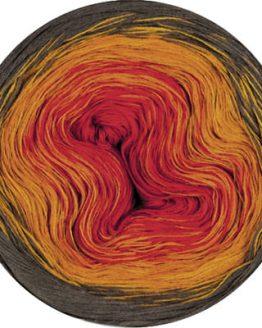 Lana Grossa Shades of Cotton Linen 707: prezioso filato estivo multicolore in cotone e lino - Amici di Maglia