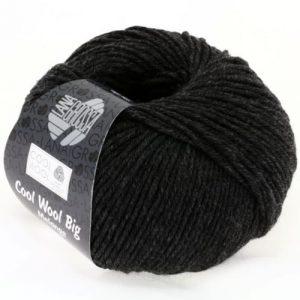 Lana Grossa Cool Wool Big 618 antracite: filato invernale in pura lana merino - Amici di Maglia