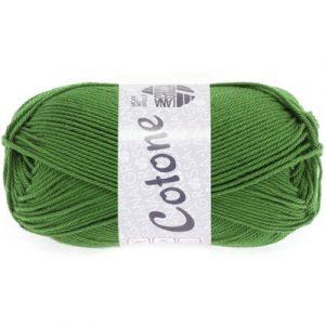 Lana Grossa Cotone verde felce: filato estivo in puro cotone - Amici di Maglia