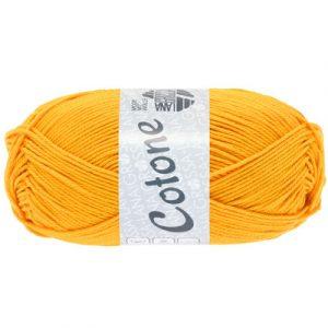 Lana Grossa Cotone giallo arancio: filato estivo in puro cotone - Amici di Maglia