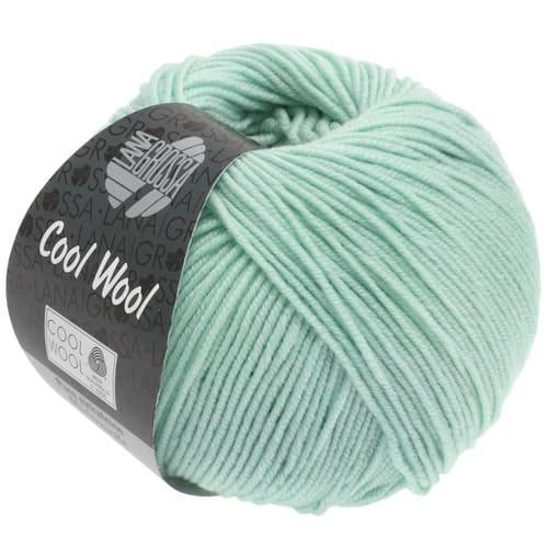 Lana Grossa Cool Wool 2030 turchese chiaro: filato invernale in pura lana merino - Amici di Maglia