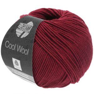 Lana Grossa Cool Wool 2068 rosso indiano: filato invernale in pura lana merino - Amici di Maglia