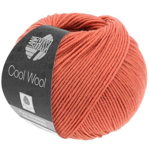 Lana Grossa Cool Wool 2082 ruggine: filato invernale in pura lana merino - Amici di Maglia