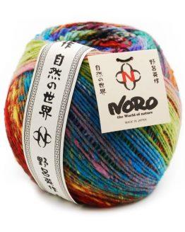 Noro Ito gomitolo: filato pregiato multicolore in pura lana - Amici di Maglia