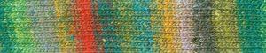 Noro Silk Garden Sock 461 Hakui: filato pregiato multicolore in lana, seta e mohair - Amici di Maglia