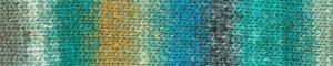Noro Silk Garden Sock 470 Omura: filato pregiato multicolore in lana, seta e mohair - Amici di Maglia