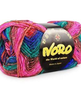 Noro Silk Garden Sock: filato pregiato multicolore in lana, seta e mohair per lavorare ai ferri e all'uncinetto - Amici di Maglia