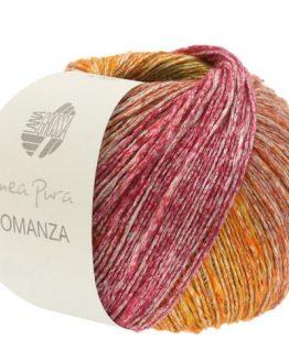 Lana Grossa Linea Pura Romanza 01: filato estivo multicolore in lino e cotone - Amici di Maglia