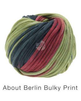 Lana Grossa About Berlin Bulky Print 104: morbido filato multicolore in cotone e micromodal - Amici di Maglia