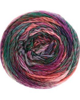 Lana Grossa Colorissimo 15: filato invernale autorigante in pura lana merino - Amici di Maglia