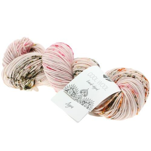 Lana Grossa Cool Wool Hand Dyed 102 Agra: filato pregiato tinto a mano in pura lana merino - Amici di Maglia