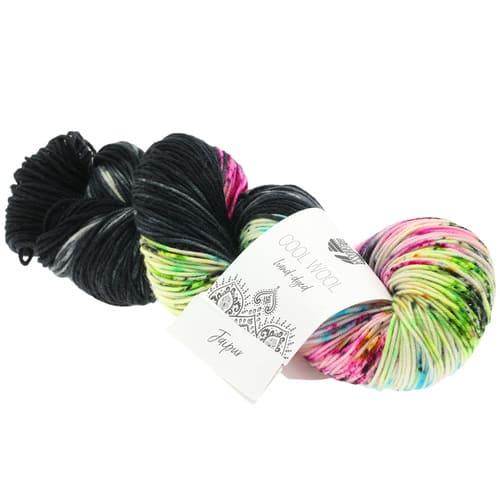 Lana Grossa Cool Wool Hand Dyed 106 Jaipur: filato pregiato tinto a mano in pura lana merino - Amici di Maglia