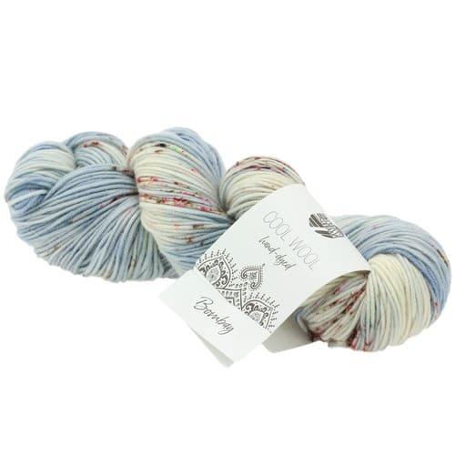 Lana Grossa Cool Wool Hand Dyed 107 Bombay: filato pregiato tinto a mano in pura lana merino - Amici di Maglia