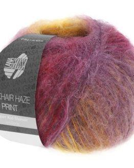 Lana Grossa Silkhair Haze Print 1201: filato pregiato invernale multicolore in mohair superkid e seta - Amici di Maglia