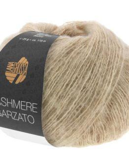 Lana Grossa Cashmere Garzato 13 cammello: filato pregiato in cashmere e cotone Pima - Amici di Maglia