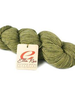 Ella Rae Heathered Merino Superfine 1001 Cornsilk: matassa di lana merino superfine - Amici di Maglia