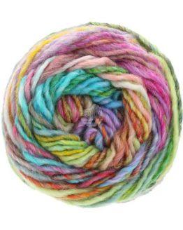 Lana Grossa Gomitolo Mezzo 121: delizioso filato invernale multicolore in lana - Amici di Maglia