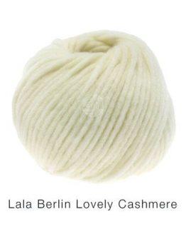 Lana Grossa Lala Berlin Lovely Cashmere bianco: filato pregiato in cashmere - Amici di Maglia