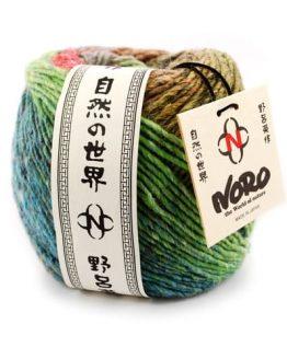 Noro Okunoshimai: pregiato gomitolo naturale in seta, lana, angora e mohair filato a mano - Amici di Maglia