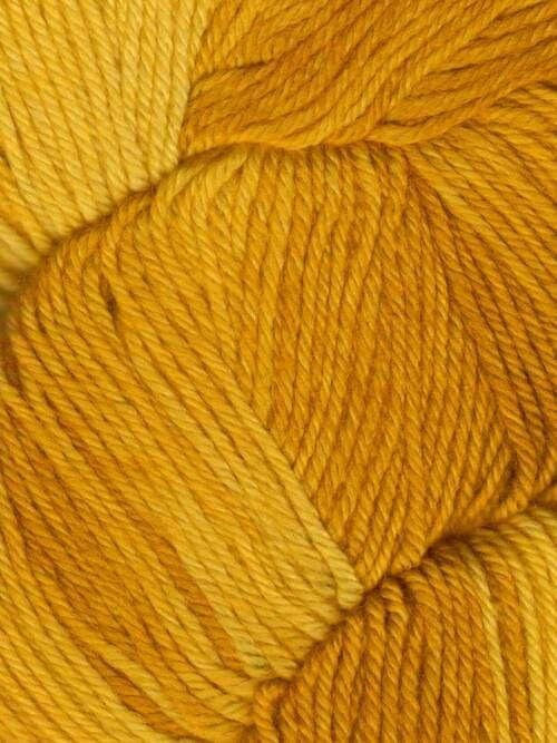 Araucania Huasco Sock Kettle Dyes matassa 1003 Ochre: filato pregiato tinto a mano in lana merino - Amici di Maglia