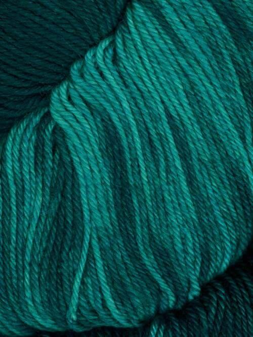 Araucania Huasco Sock Kettle Dyes matassa 1005 Verdigris: filato pregiato tinto a mano in lana merino - Amici di Maglia
