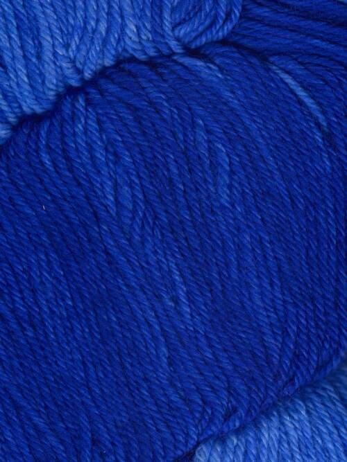 Araucania Huasco Sock Kettle Dyes matassa 1006 Indigo: filato pregiato tinto a mano in lana merino - Amici di Maglia