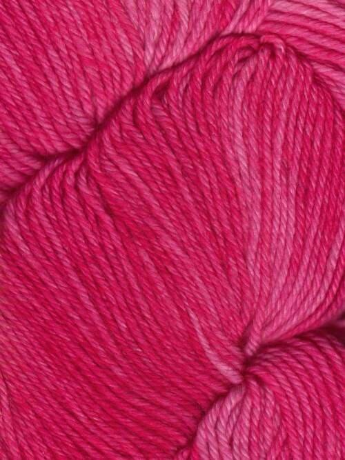 Araucania Huasco Sock Kettle Dyes matassa 1008 Cerise: filato pregiato tinto a mano in lana merino - Amici di Maglia