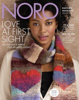 Noro Magazine numero 19: rivista di lavoro a maglia contenente 35 modelli invernali da realizzare con i filati della Noro - Amici di Maglia