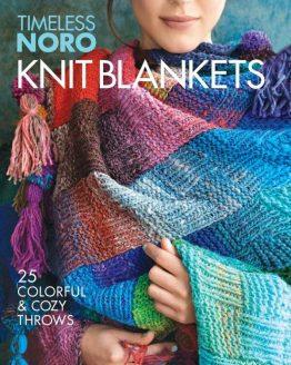 Noro Timeless Knit Blankets: libro contenente 25 modelli di coperte ai ferri con i preziosi filati Noro - Amici di Maglia