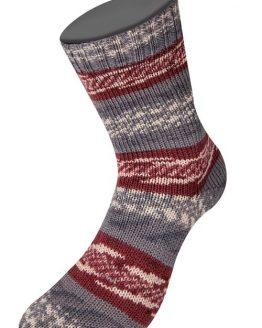 Lana Grossa Meilenweit 100 Freya 6953: filato autorigante per calze in lana vergine - Amici di Maglia