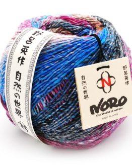 Noro Enka 02 Kagoshima gomitolo: filato prezioso in cotone, seta e lana - Amici di Maglia