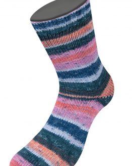 Lana Grossa Meilenweit Mare 3661: filato estivo per calze in cotone – Amici di Maglia