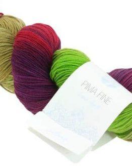Filato in puro cotone Lana Grossa Pima Fine Hand Dyed 704 Amici di Maglia