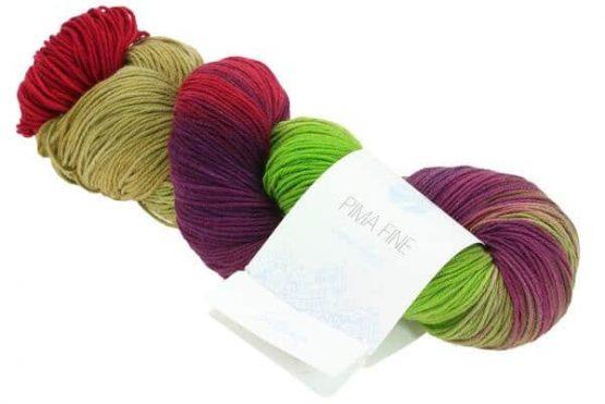 Lana Grossa Pima Fine Hand Dyed 704: filato in puro cotone - Amici di Maglia