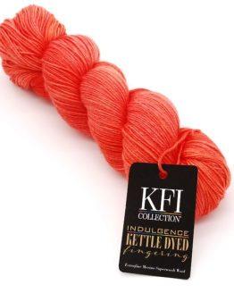KFI Luxury Collection Indulgence Kettle Dyed Fingering matassa : sottile filato in lana merino superwash - Amici di Maglia